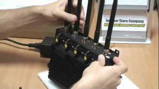 RCJ40 D 5 Band Cell Phone Jammer, Gps, Wifi, 3G Blocker