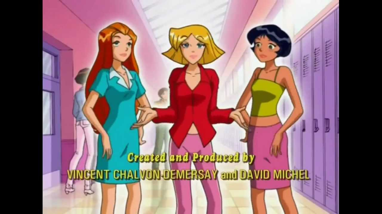 Totally spies theme song you 39 ve got a secret youtube for Domon we the theme