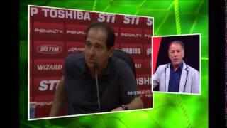 Presidente do S�o Paulo provoca e diz que Cruzeiro n�o � exemplo pra ningu�m