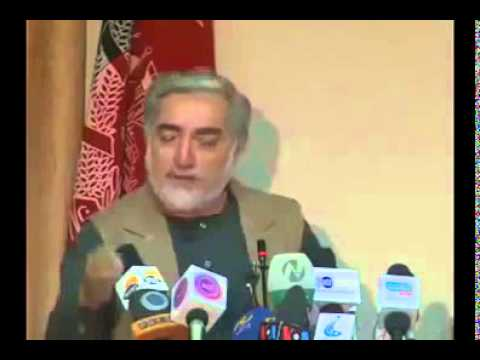 Abdullah Abdullah talks about Ashraf Ghani followers