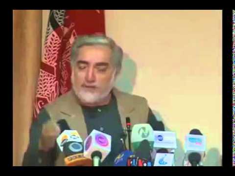 Abdullah Abdullah talks about Ashraf Ghani followers