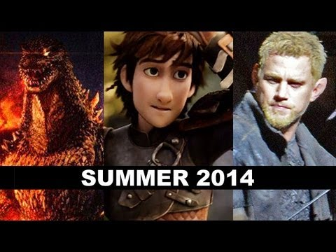 Summer Movies 2014 - Godzilla, Fast 7, Maleficent, Jupiter Ascending - Beyond The Trailer