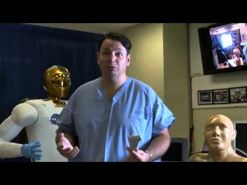 NASA's Robonaut 2 Performs Telemedicine