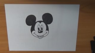 Dibujar La Cara De Mickey Mouse How To Draw The Face Of