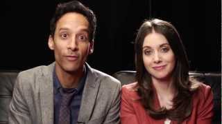 Alison Brie And Danny Pudi: Can't Hold It In Anymore