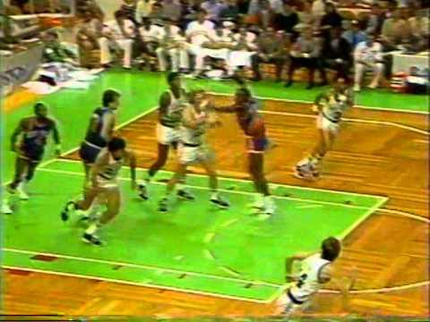 Larry Bird Greatest Games: 31 Points vs Knicks (1985)