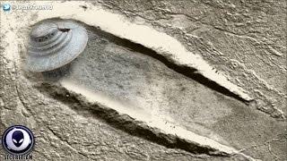 600ft UFO Crash Site Discovered On Mars! 11/23/16