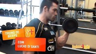 Treino de Bíceps com Lucas di Santi