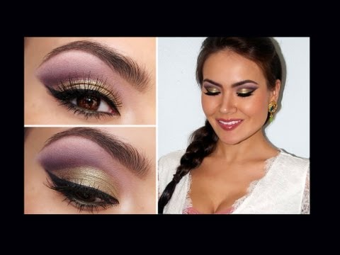 &quot;Spring Fling&quot; Romantic Eye Makeup, This is a step-by-step makeup tutorial for a Romantic Spring Cut-Crease eye makeup look using Too Faced Romantic Eye Palette. ALL PRODUCTS, links &amp; additiona...