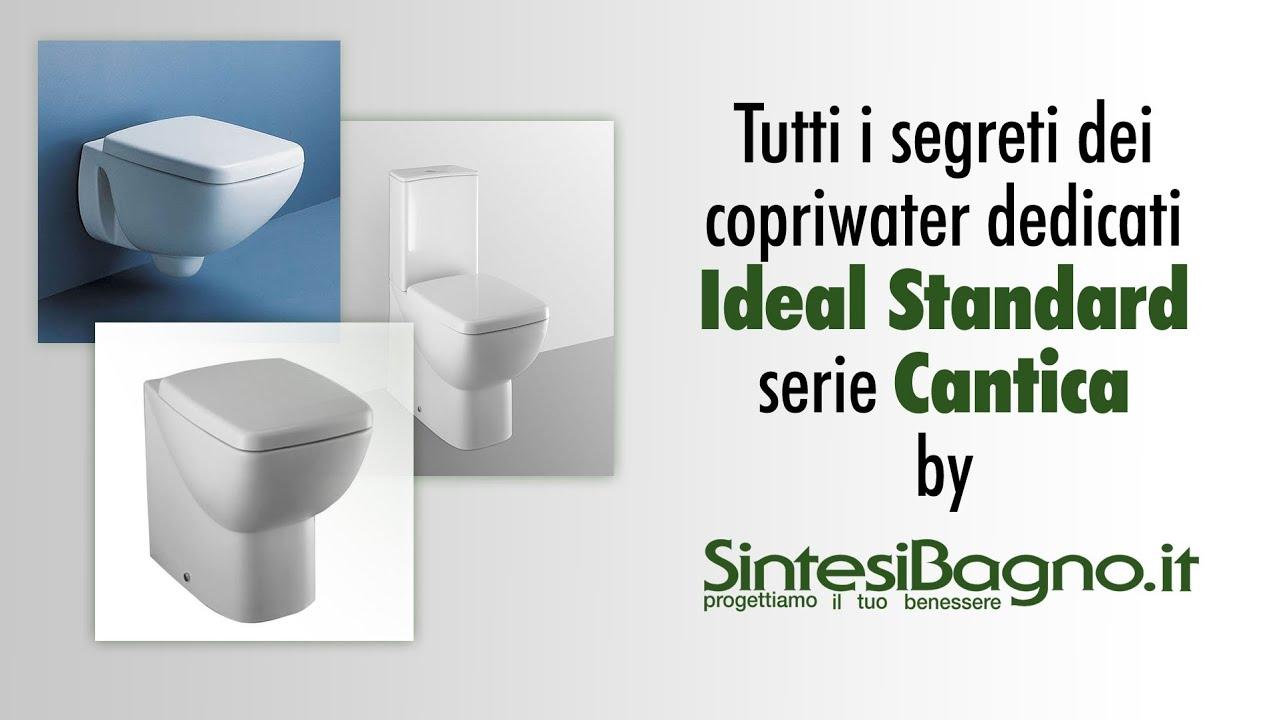 copriwater ideal standard cantica sedili dedicati youtube