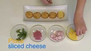How to Make Salt Cracker Canapés