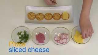 How to Make Salt Cracker Canapés