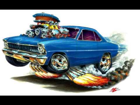Maddmax Cartoon Muscle Car Art Movie 2 - YouTube