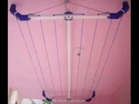 CLOTH DRYING RACKS,CLOTH DRYING STANDS,PULLEY CLOTHESLINE,gorgon decors,Rainbow Smart Hangers
