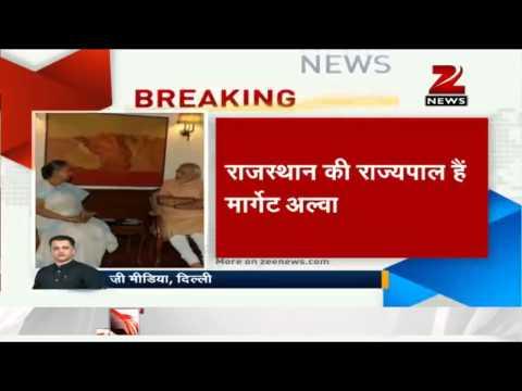 Rajasthan Governor Margaret Alva meets PM Narendra Modi