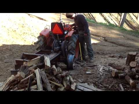 Rack And Pinion Wood Splitter