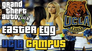 GTA 5 Easter Egg: UCLA University Campus ULSA (GTA V