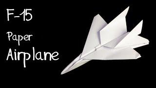 Origami F15 Jet uçak yapımı
