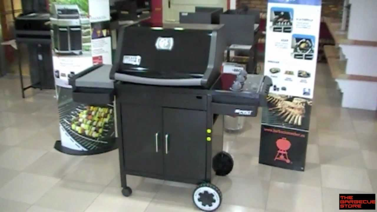 barbacoa a gas weber spirit classic e 310 negra youtube. Black Bedroom Furniture Sets. Home Design Ideas