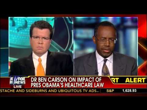 Dr Ben Carson Talks Obamacare Future Disaster Waiting to Happen w   Neil Cavuto   Fox News   6 19 13