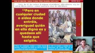 Estudio Bíblico 018 Mateo 10,1-25: Misión De Los Doce