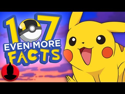 107 EVEN MORE Pokémon Facts - Pokémon Week! (ToonedUp #207) | ChannelFrederator