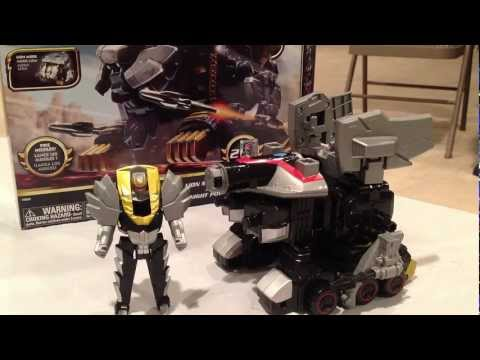 Lion Mechazord Review [Power Rangers Megaforce], Review of the Lion Mechazord zord vehicle from Power Rangers Megaforce.