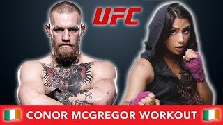 I Tried Conor McGregor's Workout 💪🏽 (Mayweather Vs. McGregor)