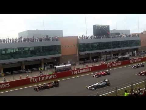 Formula 1 - GP South Korea 2013 Start