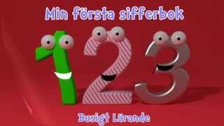 Min första sifferbok | Lär barnen att räkna! | Busigt Lärande