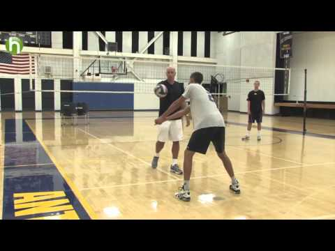 Volleyball tips  Passing techniques with John Speraw