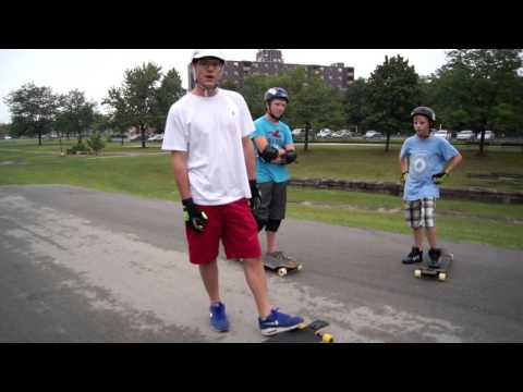 Stand up Slides and Trick Tips at Battle of Beaverdams Park