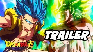 Dragon Ball Super Broly Trailer - Gogeta Goku and Vegeta Ultimate Form Easter Eggs