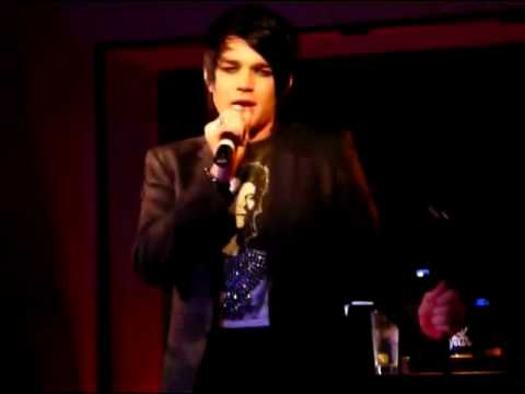 Adam Lambert : Kiss From a Rose at Upright Cabaret