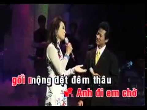 HAI HOA RUNG CHO EM karaoke TraMy1980