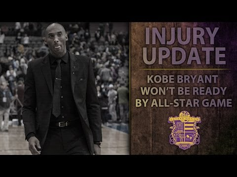 Lakers' Kobe Bryant Injury Update: OUT For NBA All-Star Game, Pain And Swelling In Knee