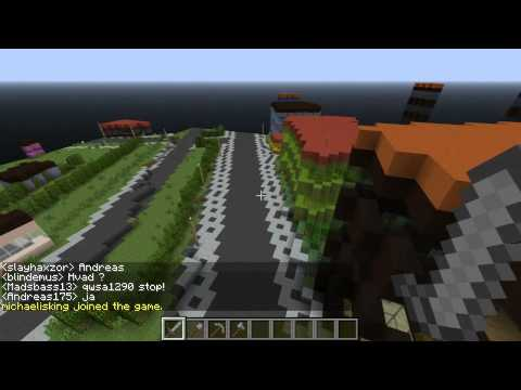 Denmark Minecraft 1:1 Scale, Episode #1 (Home town of Nakskov)