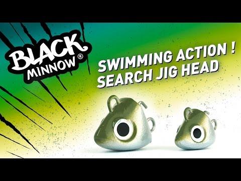 Fiiish Black Minnow Jig Head Search 18g - Khaki