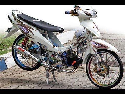 modifikasi motor honda karisma 125 terpopuler