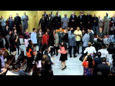 CONGRESSO JUBRAC CUBATÃO 2013 - JUBRAC DE CARAPICUÍBA - EU VOAREI