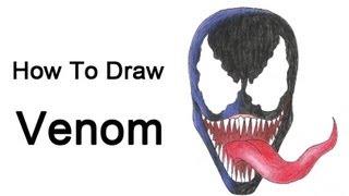 How To Draw Venom (Spider-Man)