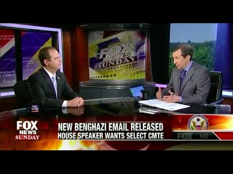 Rep. Schiff on Fox News Sunday: Benghazi Select Committee A