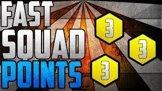 "Call Of Duty: Ghosts Unlimited Squad Points ""Glitch"