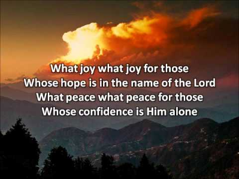 What Joy (Psalm 146) - Sarah Emerson (with lyrics)