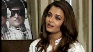 Aishwarya Rai Bachchan Interview On Robot & Superstar