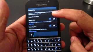 NEW features in Blackberry 10.2.1 on Blackberry Q10 (Part 1)