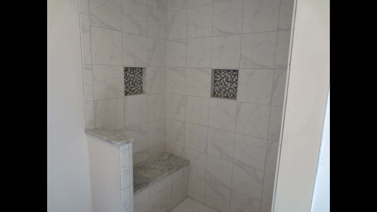 Ceramic tile shower stall 2017 2018 best cars reviews Tile shower stalls