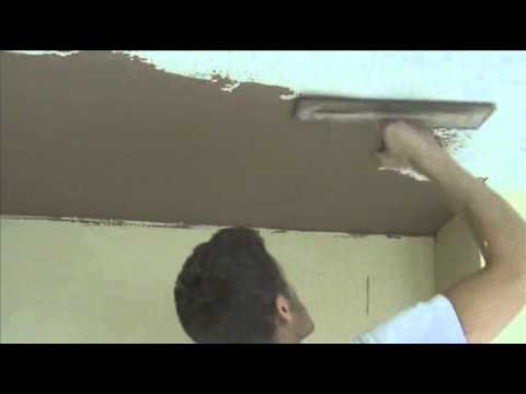 removing artex and plastering a ceiling youtube. Black Bedroom Furniture Sets. Home Design Ideas