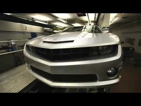 2011 Chevrolet Camaro Convertible revealed - driving scenes [part 2]