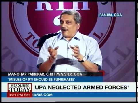 Who funds Arvind Kejriwal: Manohar Parrikar